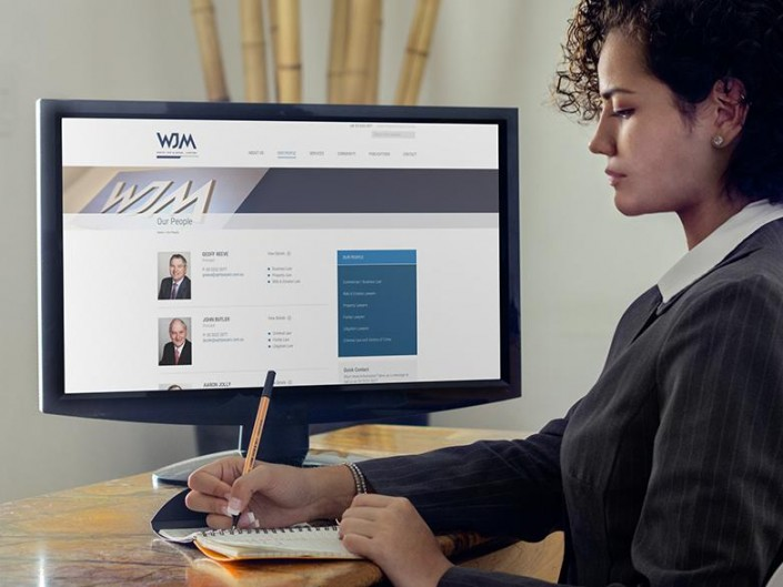 WJM Lawyers website