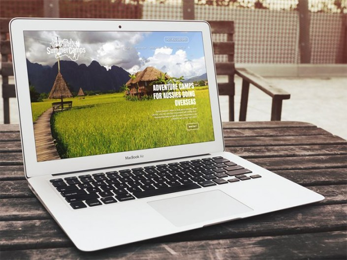 Travel website - AussieSummerCamps