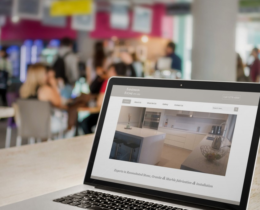 Website design for a small business in Geelong
